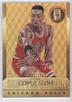 Scottie Pippen (Bulls Jersey Passing Ball) /285