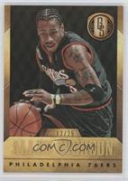 Allen Iverson (Black Sixers Jersey) /25