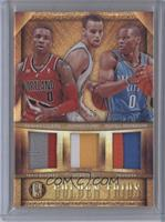 Damian Lillard, Russell Westbrook, Stephen Curry /25