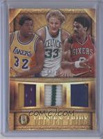 Julius Erving, Magic Johnson, Larry Bird /25