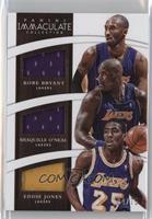 Shaquille O'Neal, Eddie Jones, Kobe Bryant /75