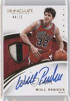 Will Perdue /75
