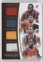 Chris Paul, Ricky Rubio, John Wall, Stephen Curry /35