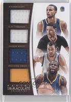 Andrew Bogut, Draymond Green, Stephen Curry, Klay Thompson /49
