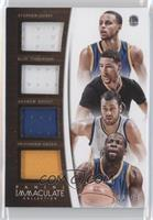 Andrew Bogut, Draymond Green, Stephen Curry, Klay Thompson /49