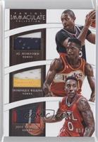 Jeff Teague, Al Horford, Dominique Wilkins /10