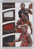 Al Horford, Dominique Wilkins, Jeff Teague /75