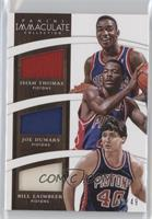 Bill Laimbeer, Isiah Thomas, Joe Dumars /49