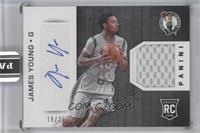 James Young /25 [ENCASED]