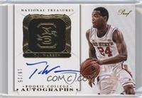 Rookie College Autographs Proofs - T.J. Warren /25