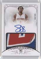 Rookie Patch Autographs - Spencer Dinwiddie /99