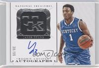 Rookie College Autographs - James Young /99