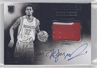 Black and White Autographed Patch Rookies - K.J. McDaniels /99