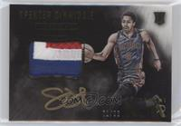 Color Autographed Patch Rookies - Spencer Dinwiddie /99