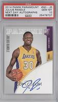 Julius Randle [PSA 10] #49/100