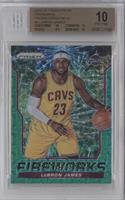 LeBron James /25 [BGS 10]