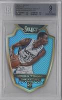 Premier Level Die-Cut - Andrew Wiggins /199 [BGS 9]