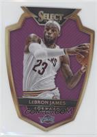 Premier Level Die-Cut - LeBron James /99