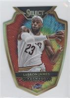 Premier Level Die-Cut - LeBron James /25