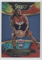 Courtside - Kenneth Faried /25