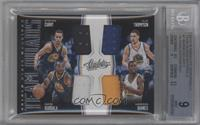 Harrison Barnes, Stephen Curry, Andre Iguodala, Klay Thompson /99 [BGS 9]