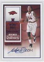 College Ticket Autographs - Michael Qualls