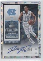 College Ticket Autographs - J.P. Tokoto /23