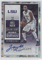 College Ticket Autographs - Jarell Martin /23