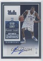 College Ticket Autographs - Kevon Looney /15