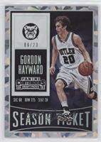 Gordon Hayward #6/23