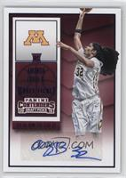 College Ticket Autographs - Amanda Zahui B.