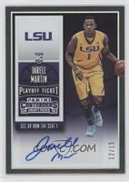 College Ticket Autographs - Jarell Martin /15