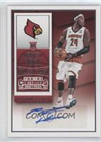 College Ticket Autographs - Montrezl Harrell (White Jersey)