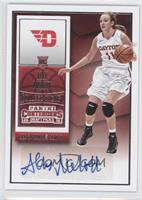 College Ticket Autographs - Ally Malott