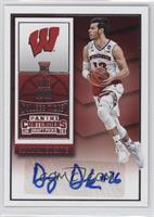 College Ticket Autographs - Duje Dukan