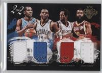 James Harden, Russell Westbrook, Kevin Durant, Patrick Beverley /99