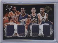 Gordon Hayward, Brandon Knight, Eric Bledsoe, Trey Burke /99