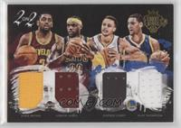 Klay Thompson, LeBron James, Kyrie Irving, Stephen Curry /99