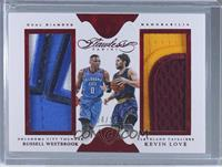 Kevin Love, Russell Westbrook /15