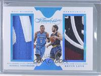 Russell Westbrook, Kevin Love /10