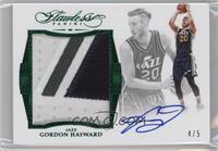 Gordon Hayward /5