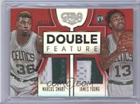 James Young, Marcus Smart /10