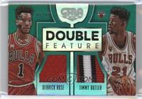 Derrick Rose, Jimmy Butler /25