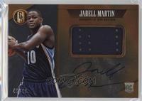 Rookie Jersey Autographs Jumbo - Jarell Martin /49