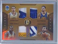 Andre Iguodala, Andrew Bogut, Klay Thompson, Stephen Curry /25
