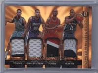 Bobby Portis, Karl-Anthony Towns, Jarell Martin, Willie Cauley-Stein /25
