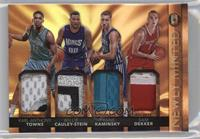 Karl-Anthony Towns, Willie Cauley-Stein, Frank Kaminsky, Sam Dekker /25