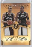 Joe Johnson, Brook Lopez /25