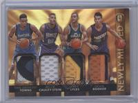 Devin Booker, Karl-Anthony Towns, Trey Lyles, Willie Cauley-Stein /15