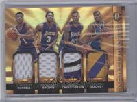 Anthony Brown, D'Angelo Russell, Kevon Looney, Willie Cauley-Stein /25